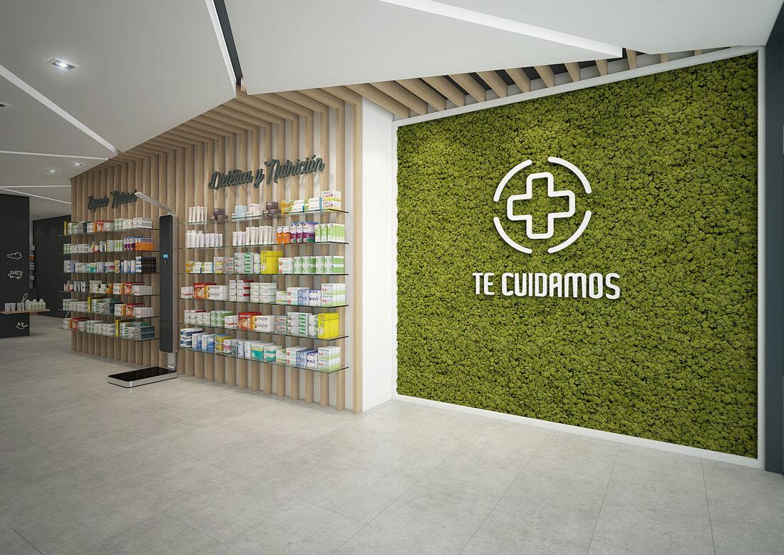 Entrada farmacia San Vicente