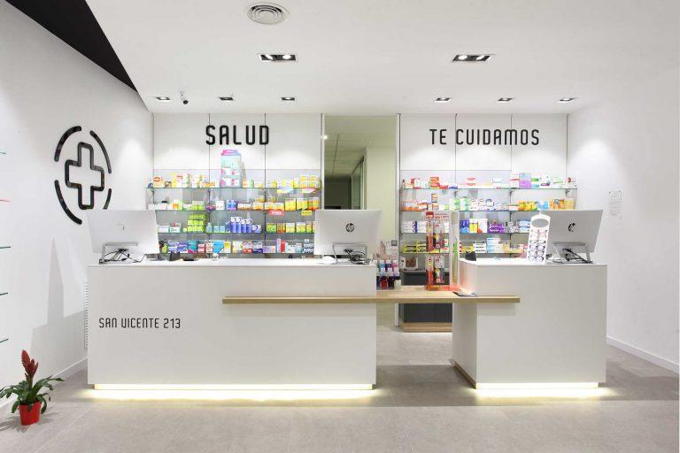 Farmacia San Vicente Recepción